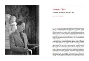 'Kenneth Clark's The Nude, 1956' in: The Burlington Magazine, May 2010
